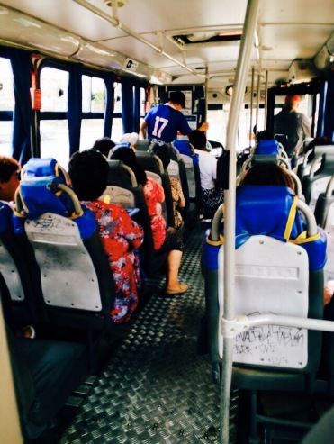 公車人特少時的樣子